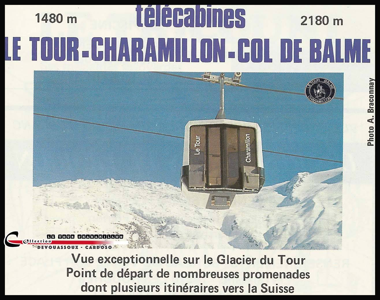 The old Le Tour lift