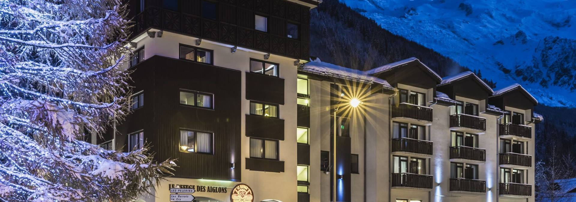 weekend in chamonix hotel